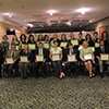 JFLACers with their certificates